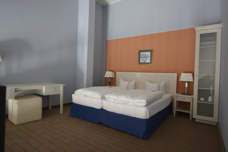 Das Bett im Superior (plus) Zimmer