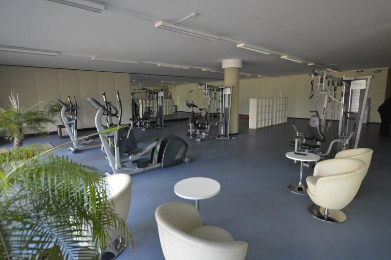 Fitnessbereich  im Hafenhotel Rheinsberg