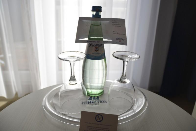 Freigetränk zur Begrüßung im Hotel Maritim Hafenhotel Rheinsberg