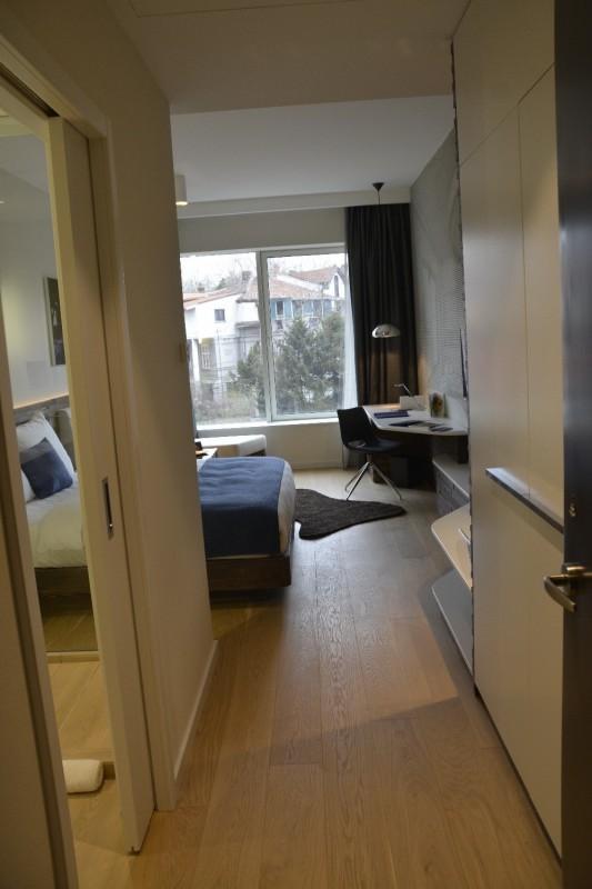 Der traditionelle 1. Blick ins Zimmer - hier in (m) ein Standard Zimmer