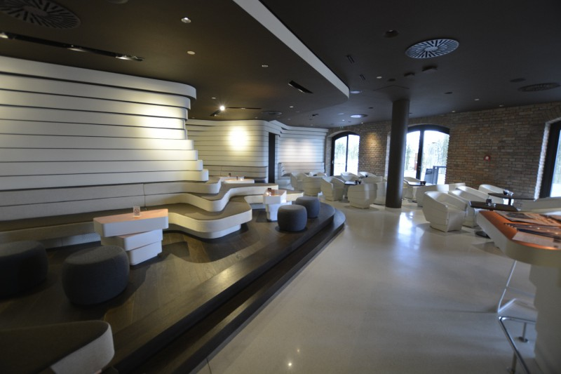 OMB Lounge im Radisson Collection Old Mill Belgrad
