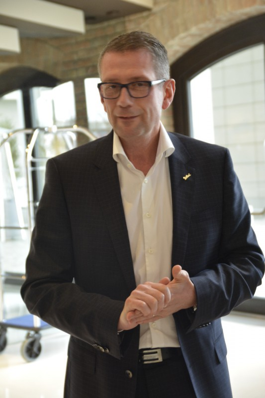 Thomas Swieca, General Manager des Radisson Blu Old Mill Belgrad