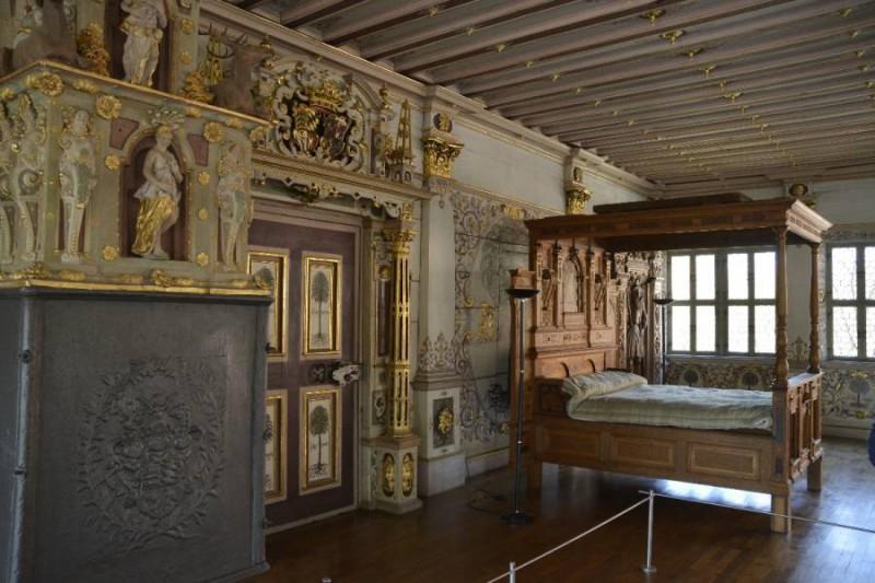 Der Goldene Saal im Residenzschloss Bad Urach