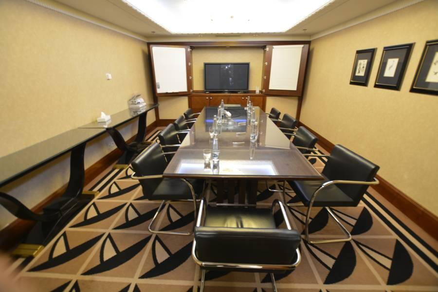 Einer der kleineren Konferenzräume im Radisson Blu Alcron Prag