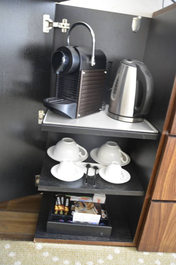 Nespresso im Radisson Blu Alcron Hotel Prag