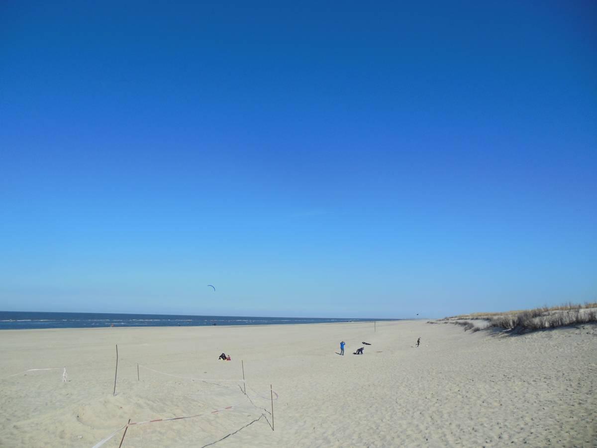 Der Strand an der Weissen Düne auf Norderney