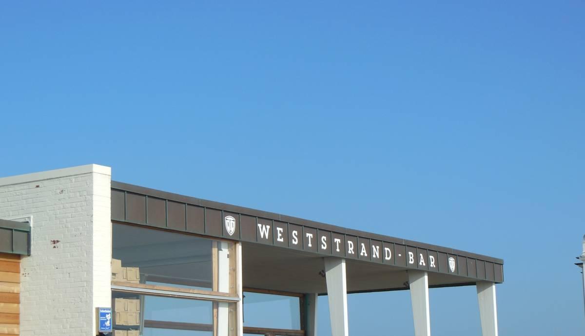 Die Weststrandbar auf Norderney