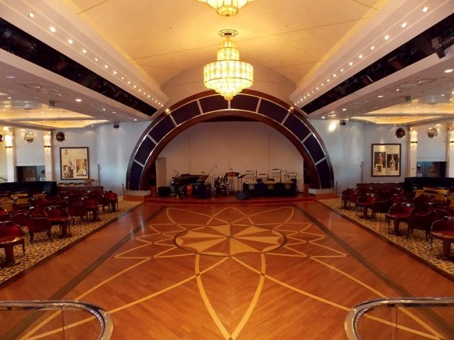 Queen Mary 2 Ballsaal