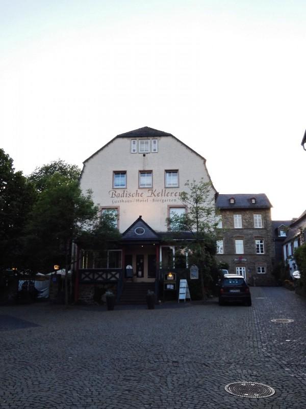 Hotel Badische Kellerey in Kastellaun, meine Unterkunft für die erste Nacht, bevor es los auf den Saar-Hunsrück-Steig ging