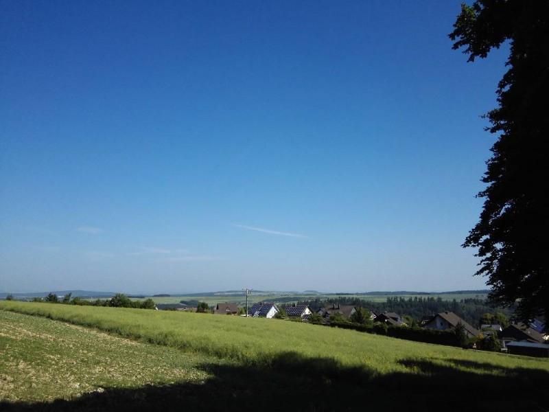 Ausblick auf dem Saar-Hunsrück-Steig