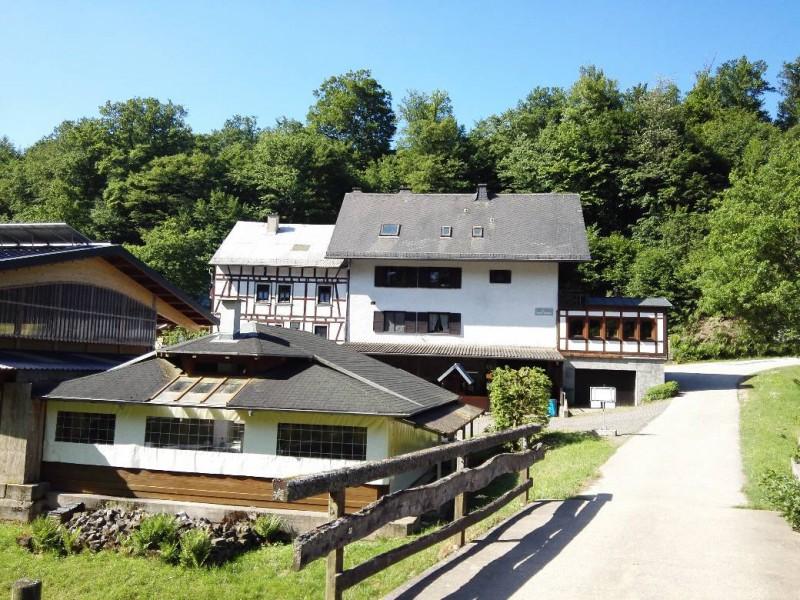 Junkersmühle bei Kastellaun auf der Verlängerung des Saar-Hunsrück-Steigs
