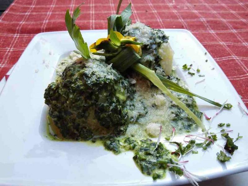 Hunsrücker Kartoffelklöße mit Zwiebel-Käse Füllung - sooooo lecker!