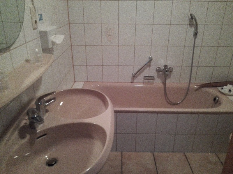 Badewanne in der Badischen Kellerey in Kastellaun