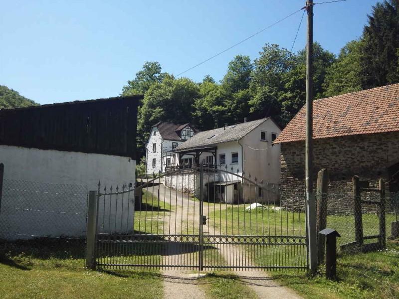 Die Gastemühle, leider keine Versorgungsstation auf dem Saar-Hunsrück-Steig