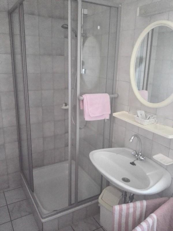 Mein Bad im Gasthaus Schmitt in Morshausen auf dem Saar-Hunsrück-Steig