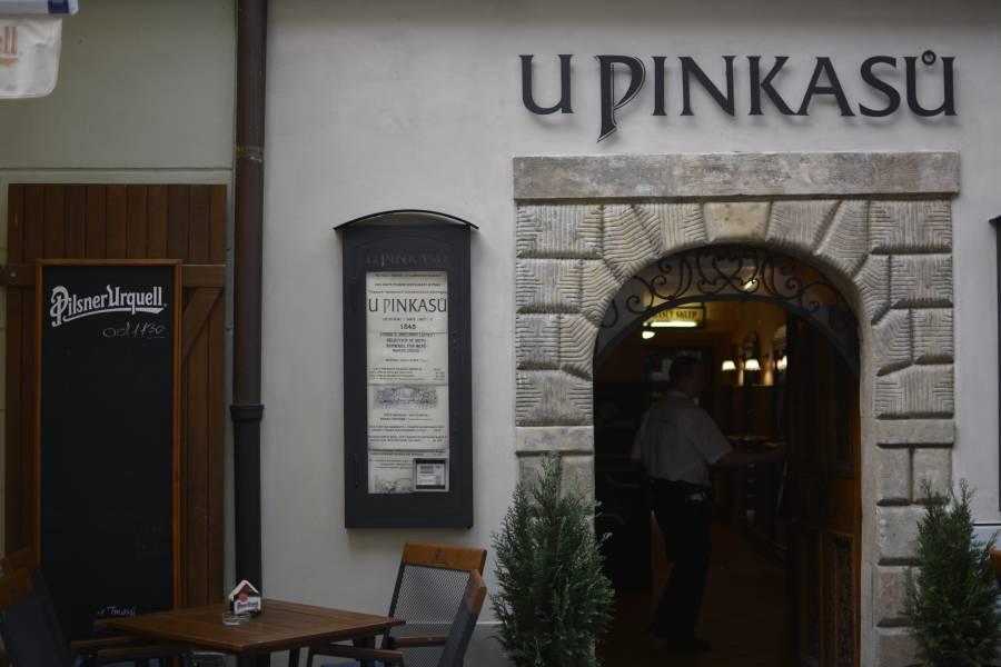 Das Restaurant U Pinkasů in Prag