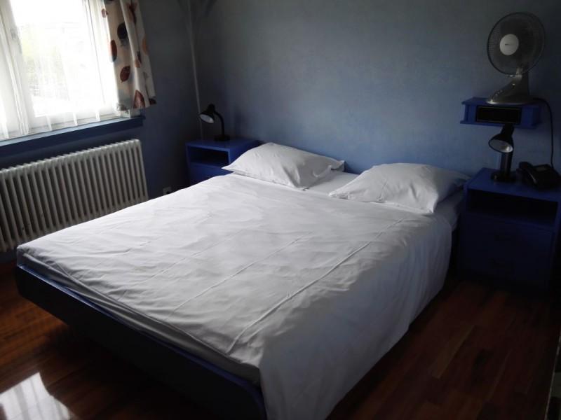 Sehr bequem, das Bett im Hotel Limmathof Zürich