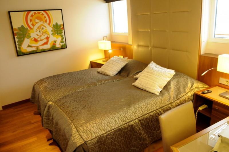 Das Schlafzimmer der Hapag-Suite