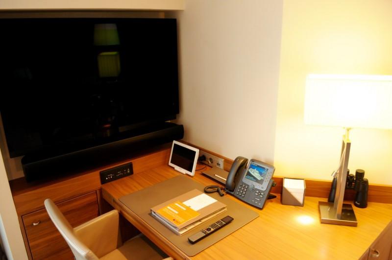Der Arbeitsbereich in der Hapag-Suite