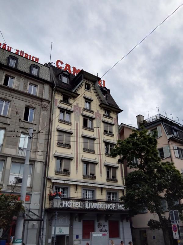 Außenansicht vom Hotel Limmathof  Zürich