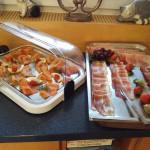"""Wurst und Fisch zum Frühstück im Landhotel """"Zur Katz"""" in Halsenbach-Ehr, mein letzter Gastgeber auf dem Saar-Hunsrück-Steig"""