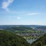 Vier Seen Blick auf dem SaarHunsrück-Steig