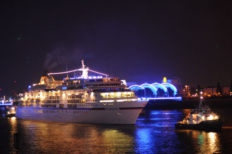 MS Europa bei den Cruise Days