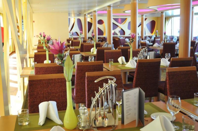 Restaurant auf der Arosa Flora