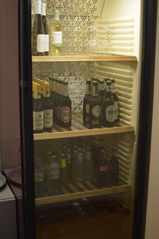 Kühlschrank im Hotel Adele Berlin