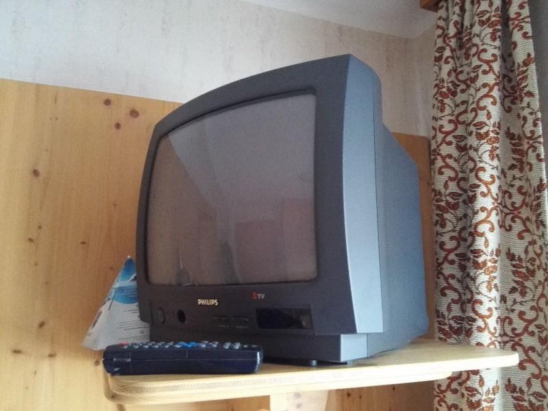 Röhrenfernseher in der Pension Lachmayr Kaprun. Das es die noch gibt :)