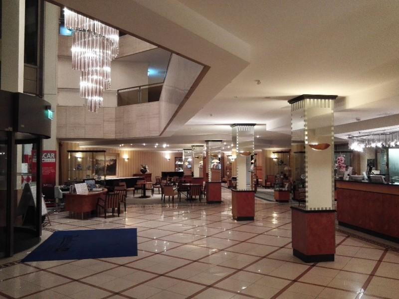 Lobby im Hotel Radisson Blu Baden-Baden