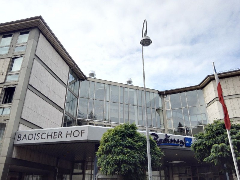 Das Radisson Blu Badischer Hof in Baden-Baden