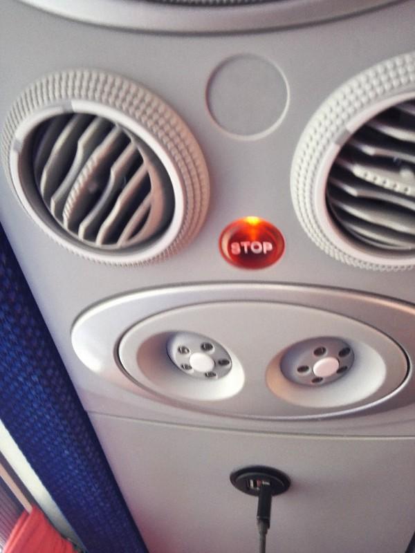 USB Anschlüsse im Flying Busses