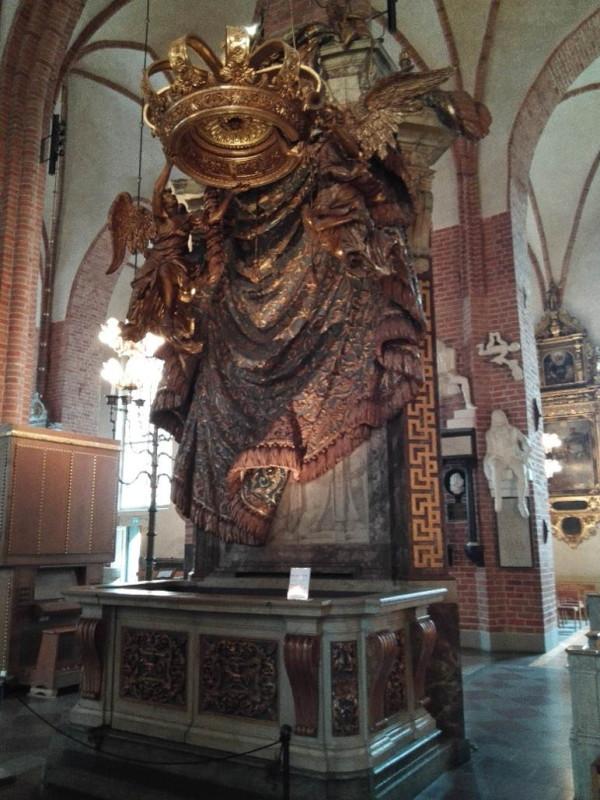 Krone im Storkyrkan Stockhom