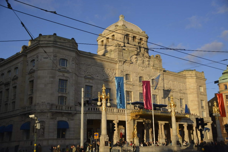 Das Dramatic (Royal Dramatic Theatre) in Stockholm