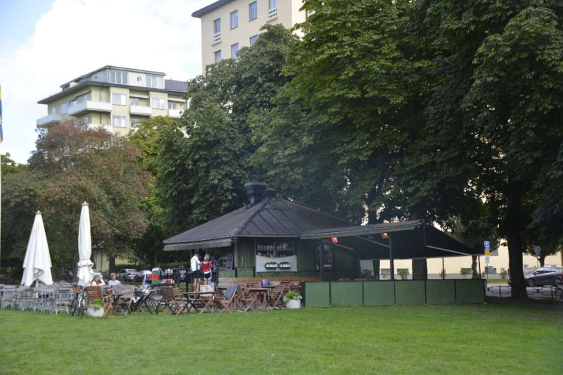 Pavillion im Tessinparken Stockholm