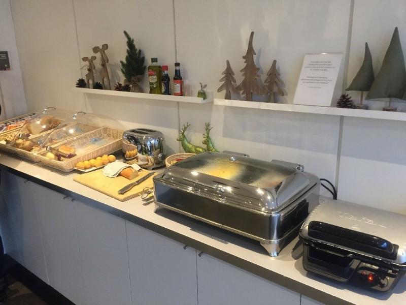 Frühstücksauswahl im ibis styles Köln