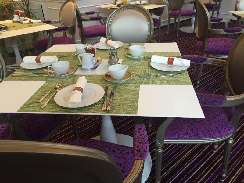 Vorbereiteter Tisch