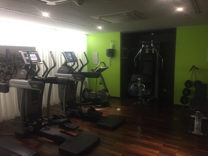 Fitnessgeräte im Hotel Steigenberger Herrenhof Wien