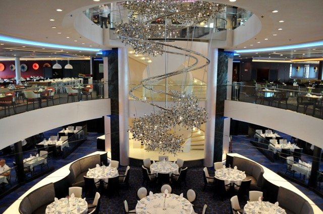 Das Atlantik Restaurant bietet drei Themenbereiche.