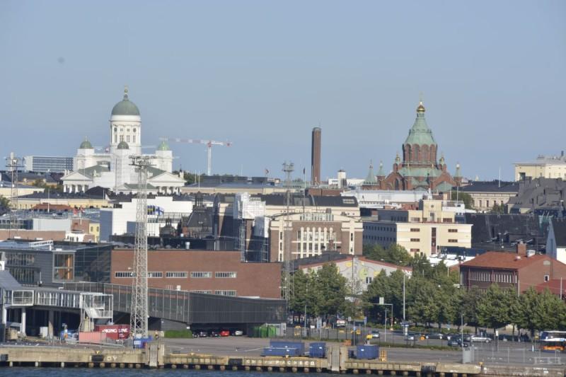 Einfahrt nach Helsinki mit der M/S Silja Symphony