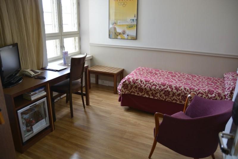 Mein Einzelzimmer im Hotel Anna Helsinki