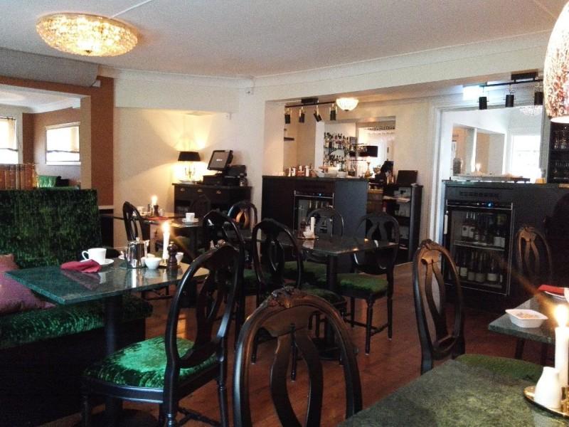 Frühstücksraum im Bromwallshof Hotell Stockholm