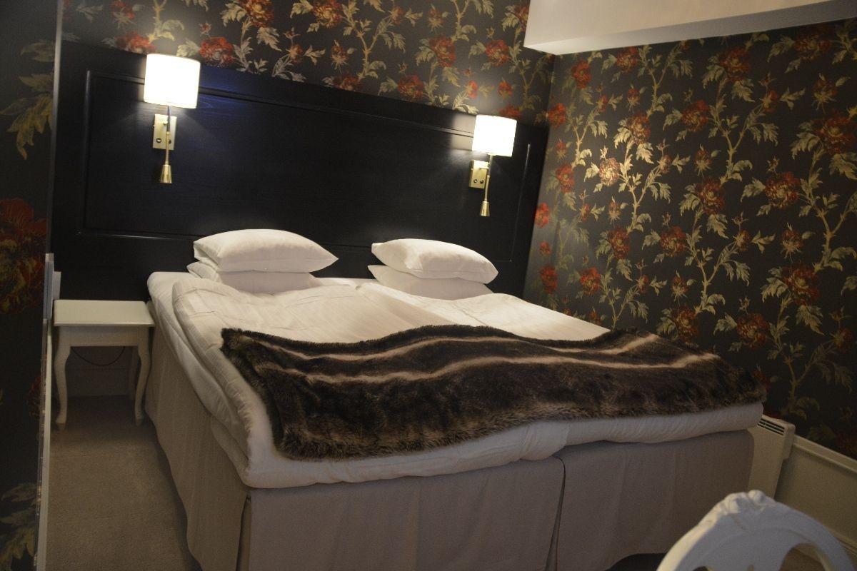Großes Bett für mich alleine...