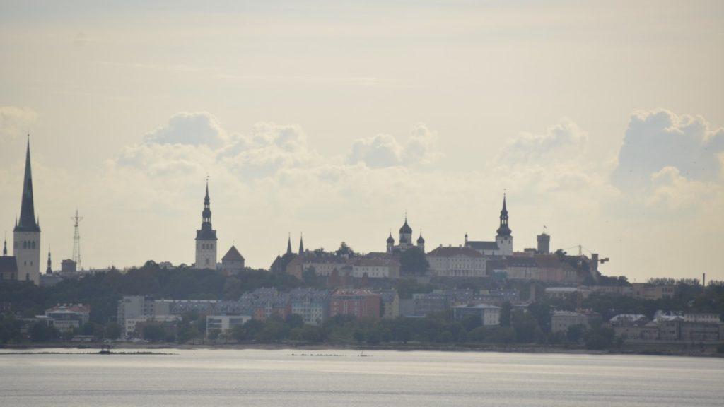 Tallinn am Horizont...