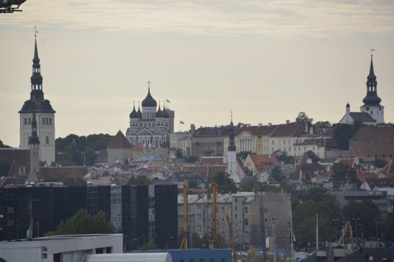 Tallinn vonBord der M/S Superstar im Hafen von Tallinn fotografiert
