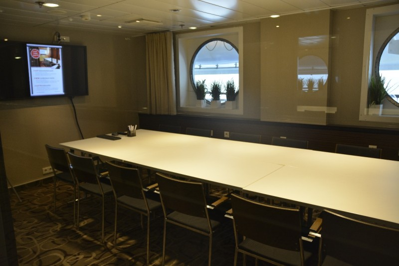 Konferenzraum / Meetingroom an Bord der M/S Superstar