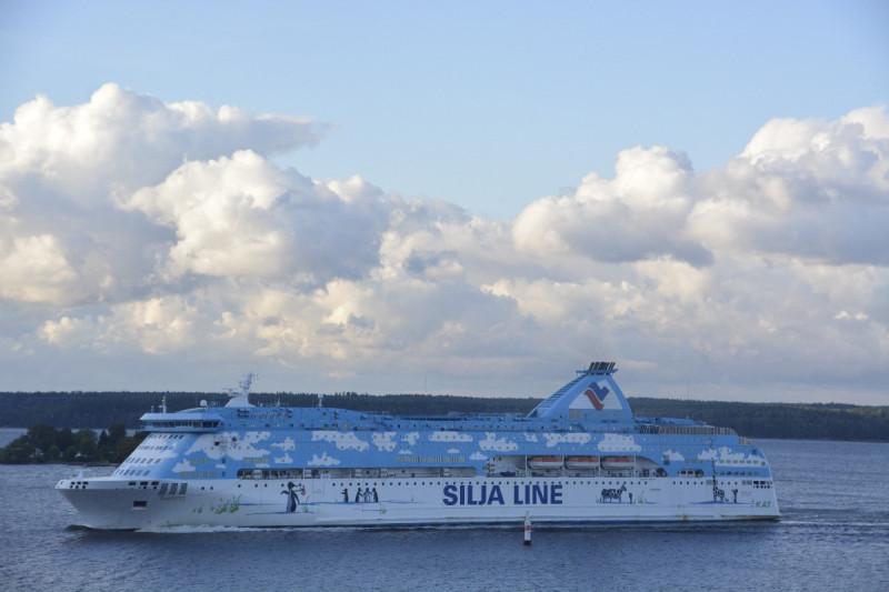 M/S Galaxy, die zwischen Stockholm und Turku verkehrt