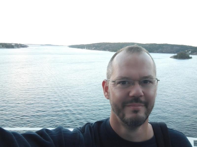 Ein Selfie. Ausnahmsweise auf der M/S Silja Symphony