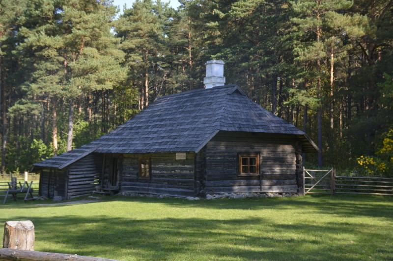 Der westestnische Bauernhof Sassi-Janni im Freiluftmuseum Tallinn